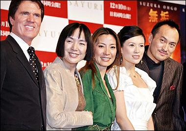 Memoirs of a geisha movie cast