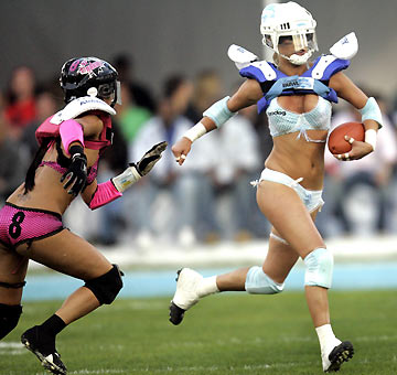 Annual bowl football lingerie third