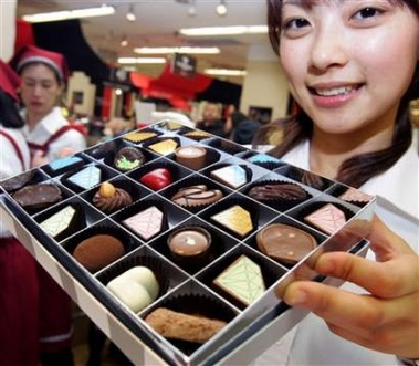 Japanese Women Bitter At Valentine Chocolate Duty