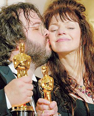 Oscar awards ceremony in Hollywood
