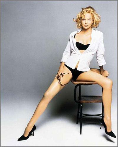 Charlize Theron has best legs and thighs