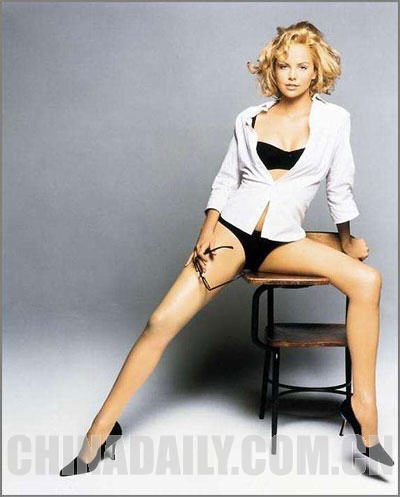 Charlize Theron Legs