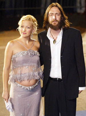 Chris Robinson and Kate Hudson