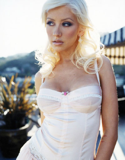 christina aguilera photo shoots