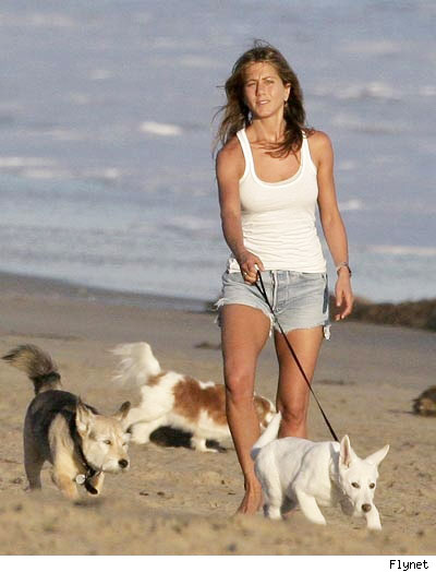 Jennifer Aniston's day out