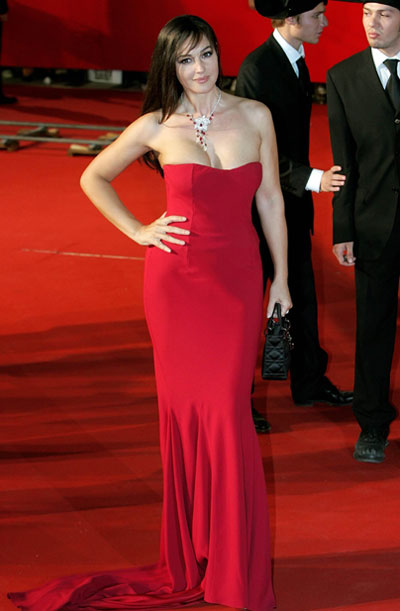 monica bellucci dress