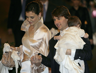 tom cruise and katie holmes and suri. tom cruise,,katie holmes,,suri