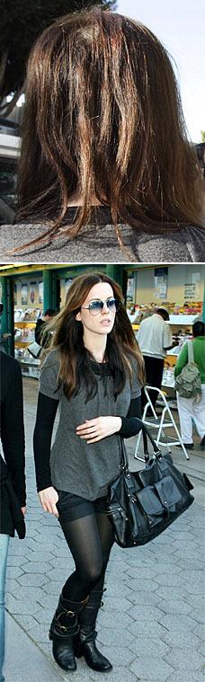 Kate Beckinsale Without Hair Extensions Actress Kate Beckinsal...