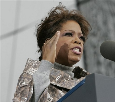 Oprah: Donating to charity wasn't enough. (AP) Updated: 2007-01-01 10:41