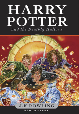 harry potter books cover. New Harry Potter book cover