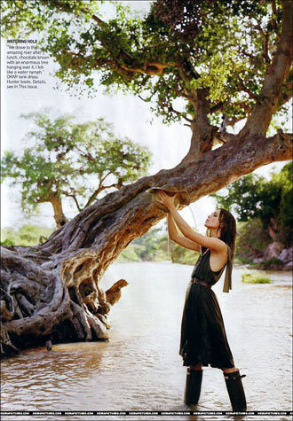 Keira Knightley does Vogue magazine June 2007