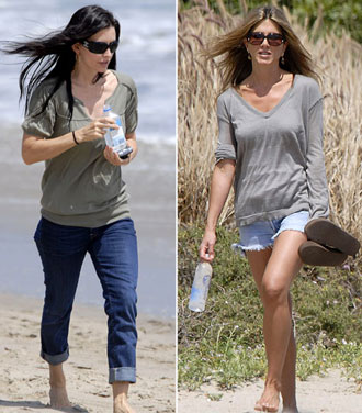 jennifer aniston beach