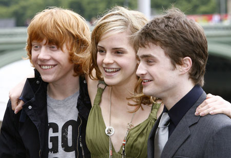 cast of harry potter 5