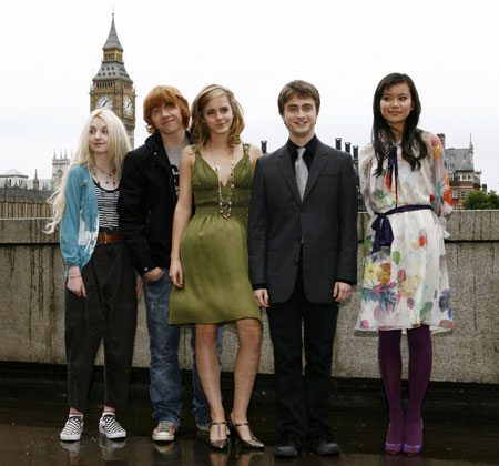harry potter cast members. Actors Evanna Lynch, Rupert