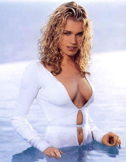 Consider, rebecca romijn breasts