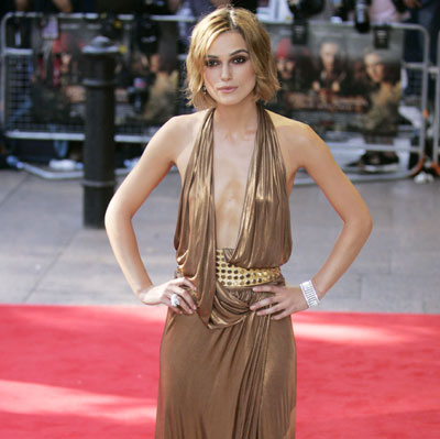 Keira Knightley plays down