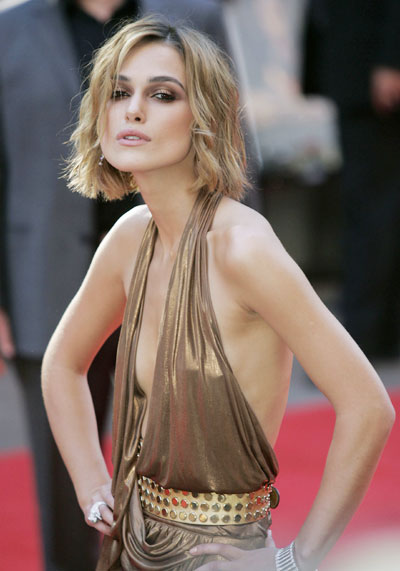 Keira Knightley Plays Down Anorexia Rumors