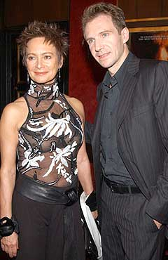 Ralph Fiennes and Fran...
