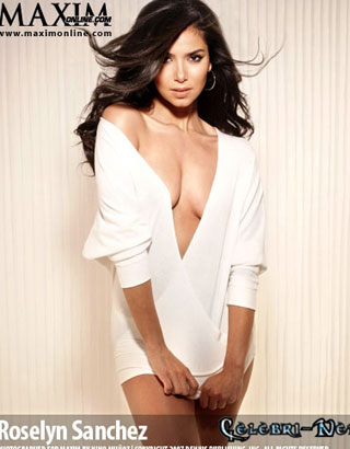 Roselyn Sanchez Maxim Magazine May 2007