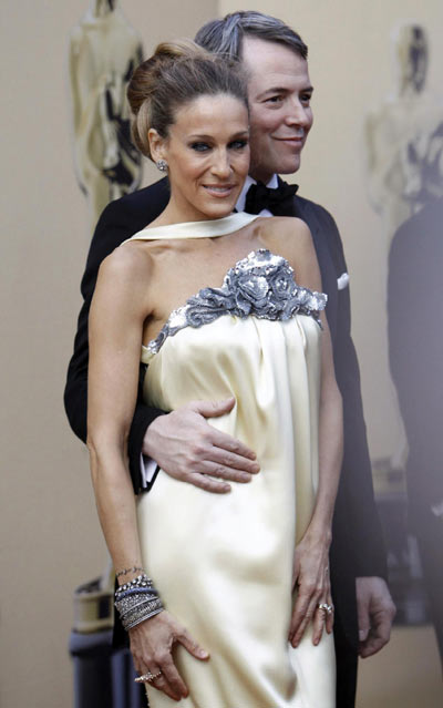 Sarah Jessica Parker and her husband at the 82nd Academy ...