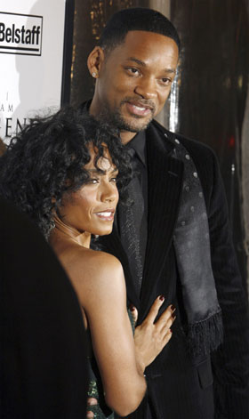 will smith wife jada. Actor Will Smith and his wife