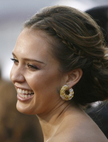 Jessica Alba arrives at the 80th annual Academy Awards. Updated: 2008-02-25