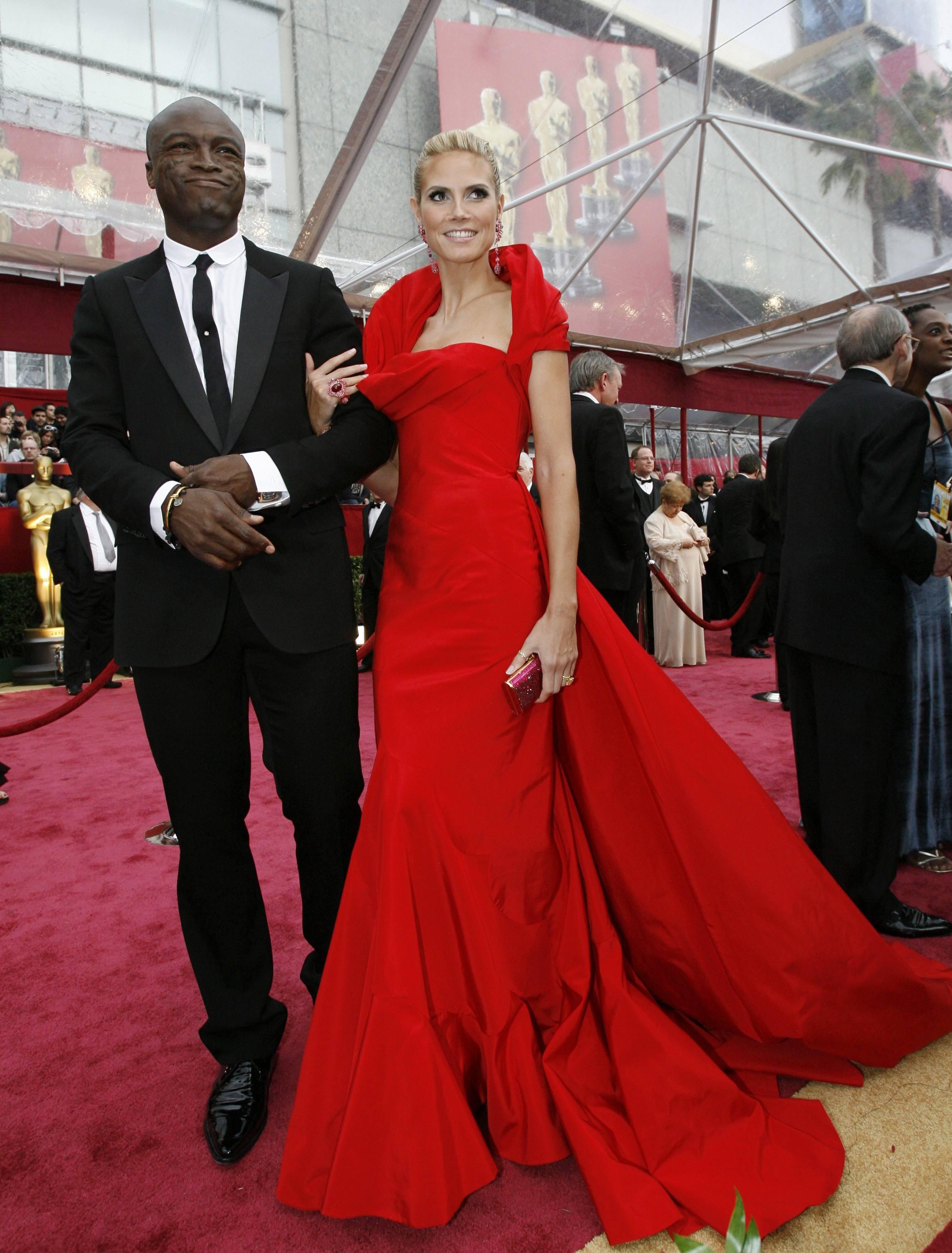 Supermodel Heidi Klum ...