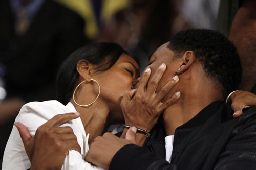 will smith kisses
