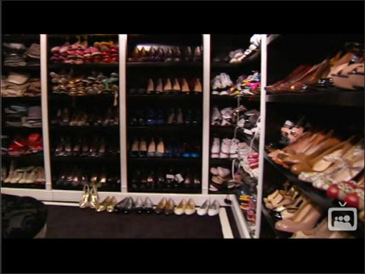 Rare glimpse into Paris Hilton's closets