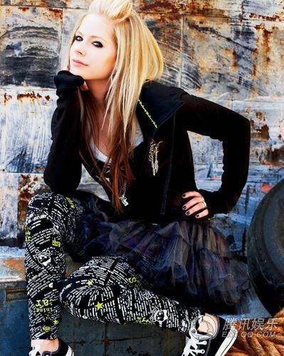 "Avril Lavigne's ""Alice (Underground)"""