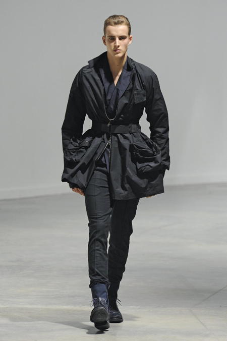 Lanvin Fall-Winter 2010/2011 men's fashion show