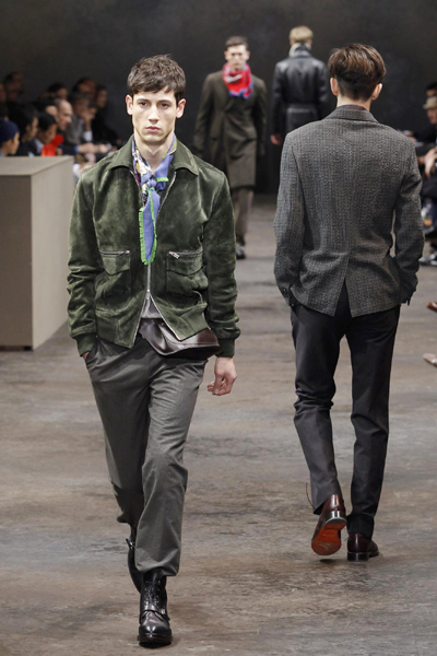 Winter Fashion   on Fashion House Hermes As Part Of Her Fall Winter 2010 2011 Men S