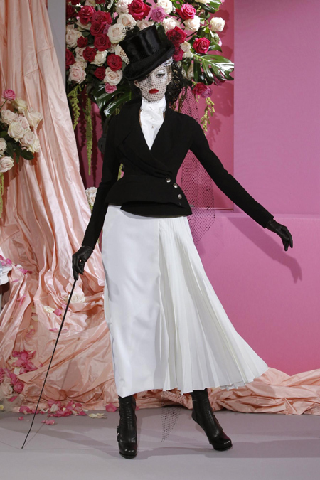 John Galliano Spring Summer 2010 fashion show