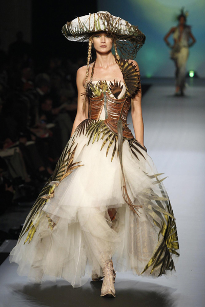 Jean Paul Gaultier Haute Couture Spring Summer 2010 Fashion Show