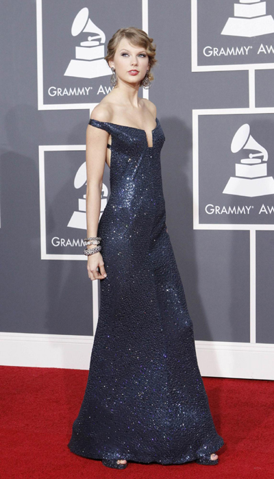 Celebs at 52nd annual Grammy Awards in L.A.