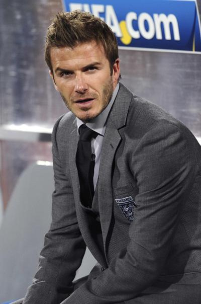 David Beckham World Cup 2010 David Beckham Attends 2010