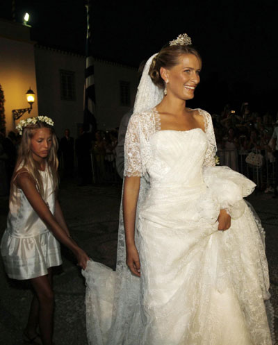 Princess tatiana wedding