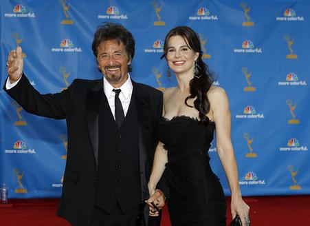Al Pacino with hot, Girlfriend Lucila Solá