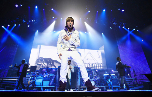 Justin Bieber Performs At Madison Square Garden In Ny