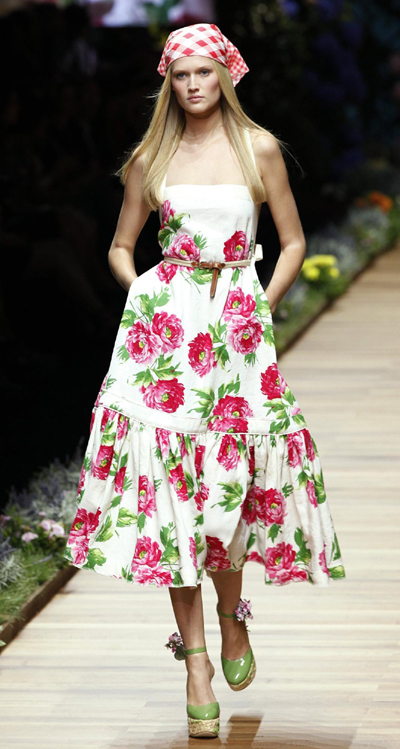D&G Spring/Summer 2011 women's collection