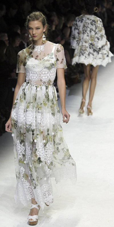 Dolce&Gabbana's Spring/Summer 2011 women's collection