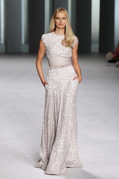 Elie Saab Spring/Summer 2011 women's ready-to-wear fashion collection