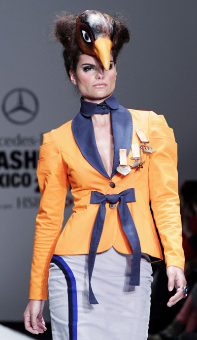 Mercedez Benz DFashion show