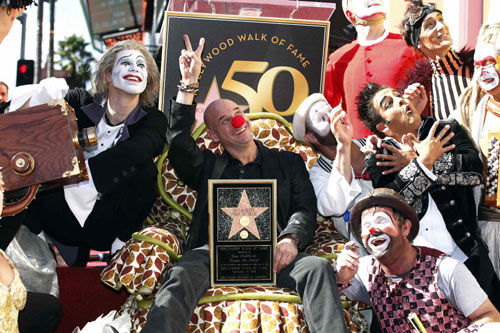 Guy Laliberte Unveiled His Hollywood Walk Of Fame Star In Hollywood