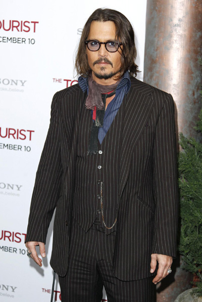 The premiere of 'The Tourist' in New York