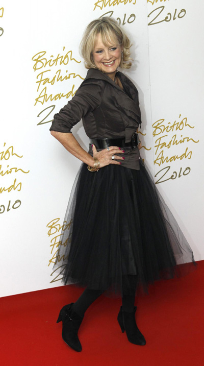 The British Fashion Awards 2010 in London