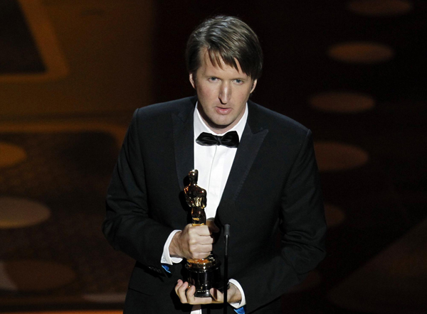 Tom Hooper wins the Oscar for best director