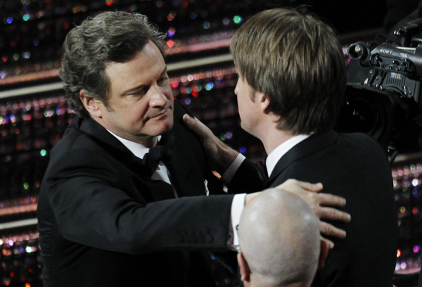 Tom Hooper wins the Oscar for best director