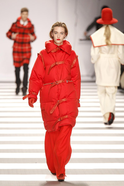 Charles de Castelbajac fashion collection show during Paris Fashion