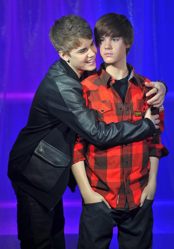 justin bieber wax museum. Pop sensation Justin Bieber